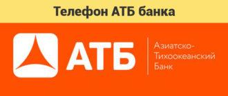 Горячая линия АТБ банка